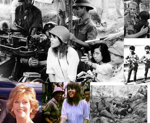 JANE FONDA & VIETNAM war CRIMINAL