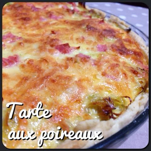 Tarte aux poireaux mes recettes de cuisine - Tarte aux poireaux legere ...