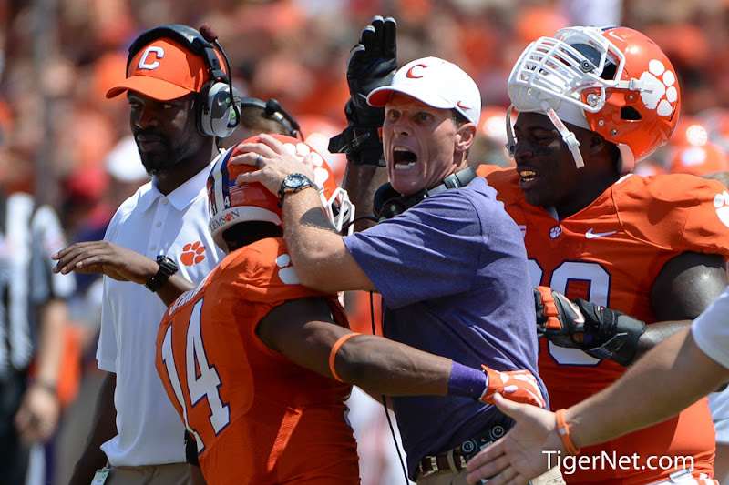 SC State vs. Clemson Photos - 2013, Brent Venables, Football, SC State