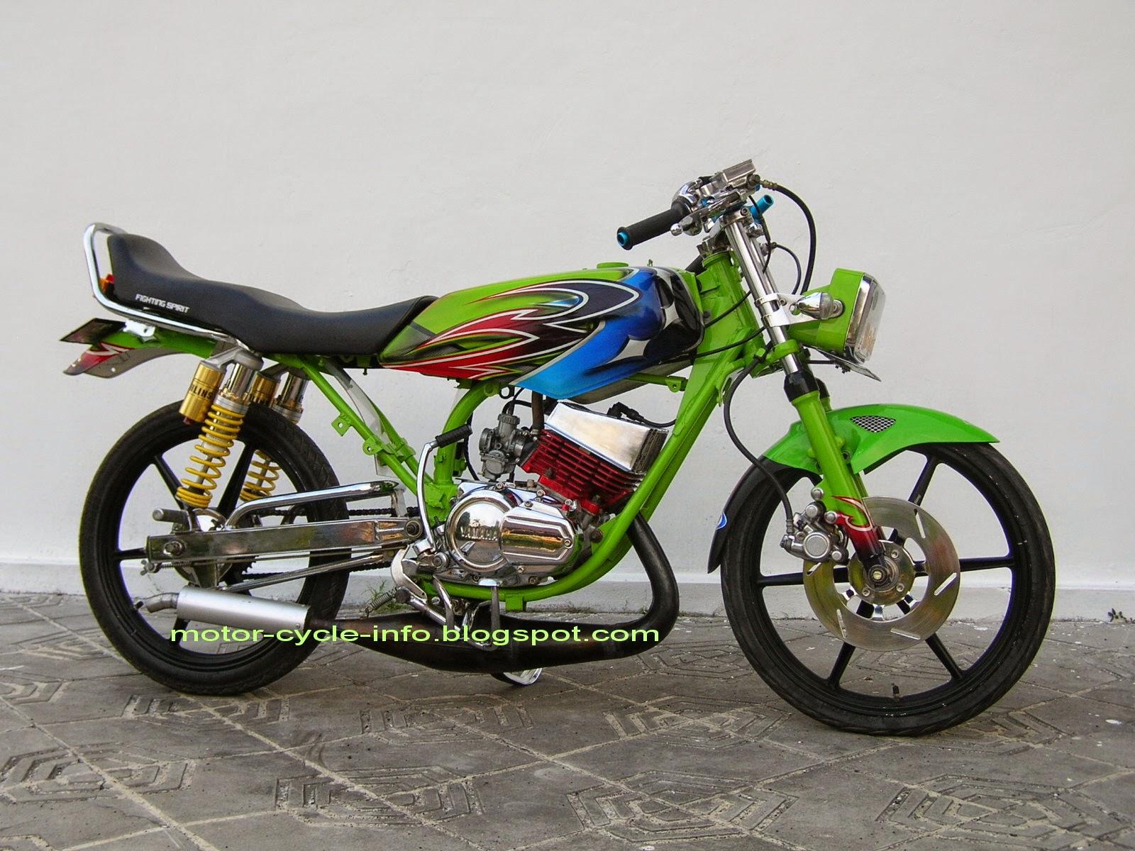 Koleksi Foto Modifikasi Motor Supra Drag Terlengkap Modispik Motor