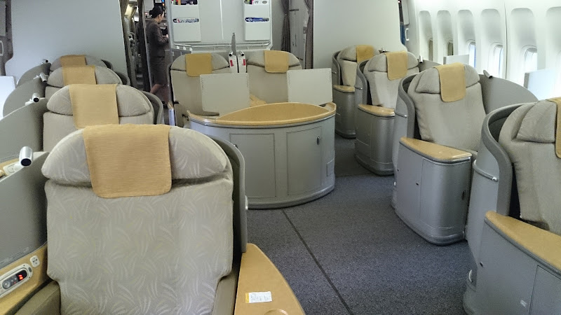 DSC 0616 - REVIEW - Asiana Airlines : First Class - Seoul Incheon to Tokyo Narita (B747)