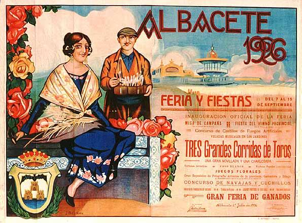 Cartel Feria Albacete 1926