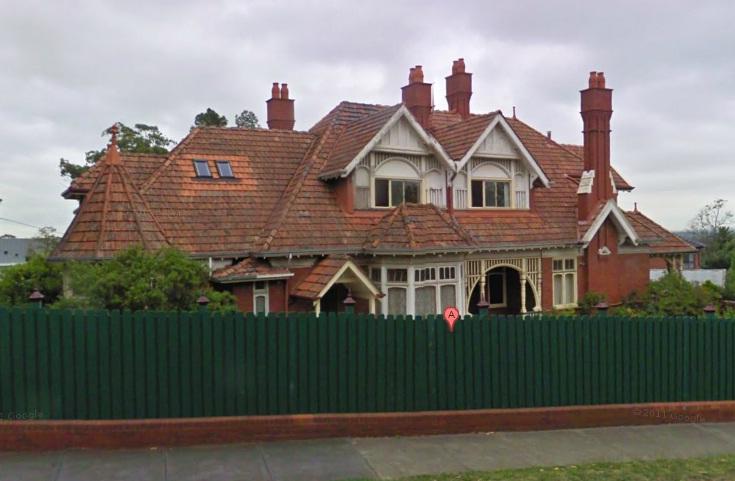 Streetview of 5 Wilismere Road, Kew