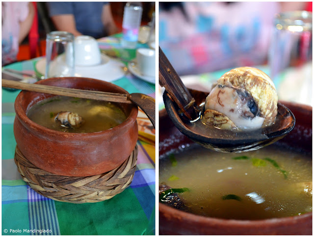 Sinabawang Balot: Duck embryos cooked with soup