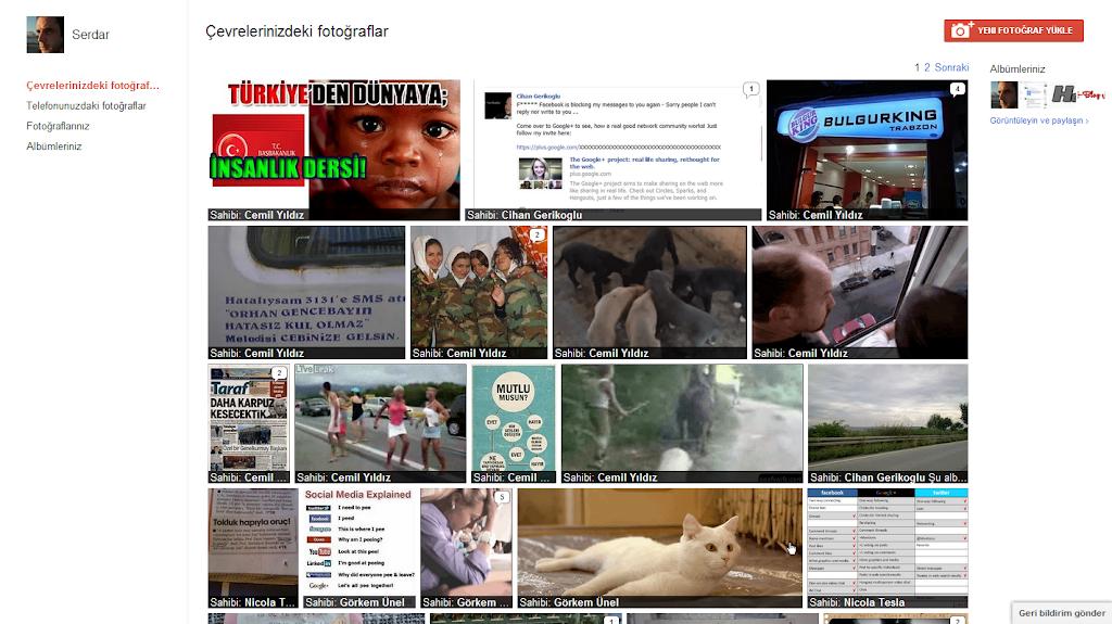 Google Plus Fotoğraflar