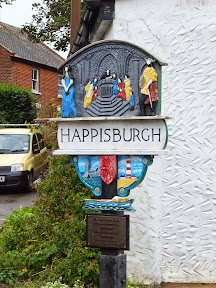 Happisburgh village sign