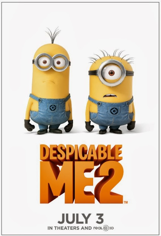 Poster Of Despicable Me 2 (2013) Full Movie Hindi Dubbed Free Download Watch Online At Alldownloads4u.Com