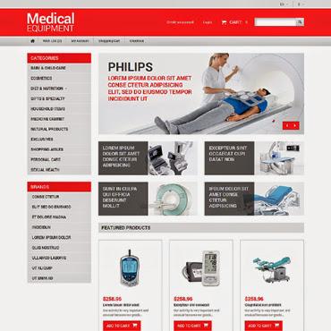 Medical Equipment OpenCart #50979