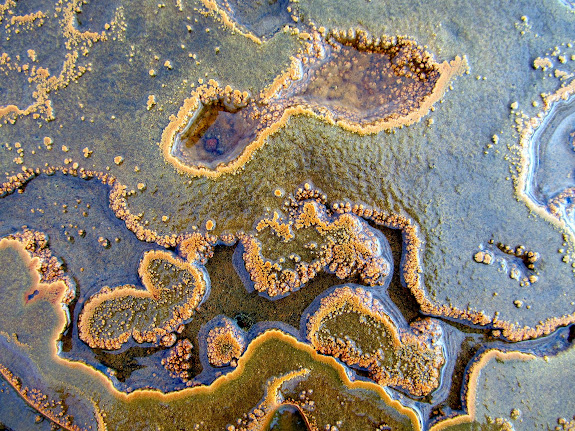 Chaffin Geyser mineral textures title=