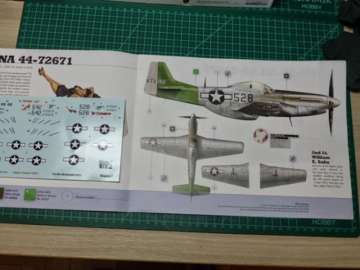 """P-51D """"The Enchantress"""" - Tamiya 1:72 - Finalizado 04Set2015 P1090454"""