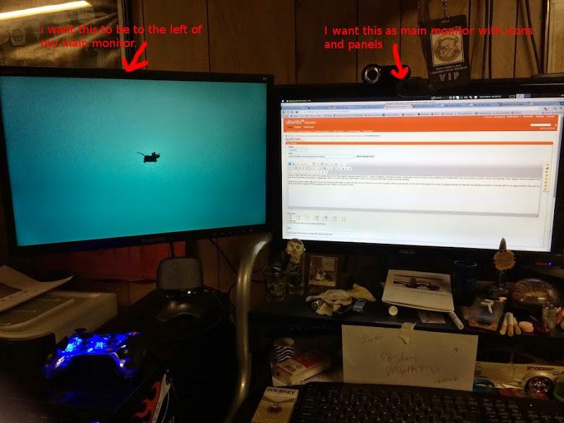 xfce dual monitor