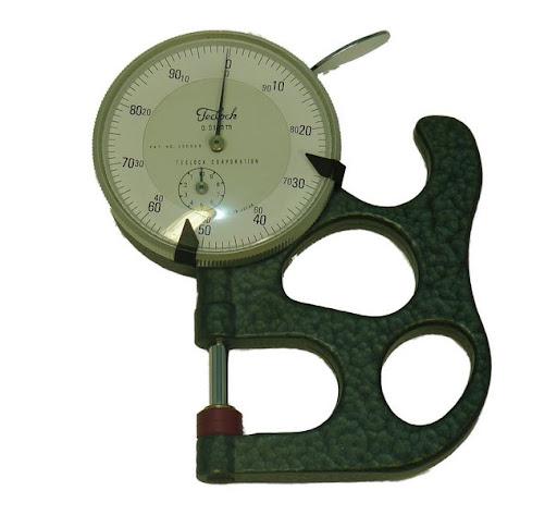 毛刷製造量測工具─厚度計
