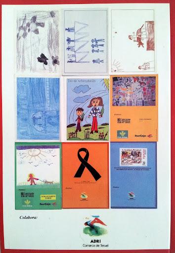 Contraportada Revista Pancrudo nº10 (2006). Contraportadas números 1 a 9 de la revista Pancrudo