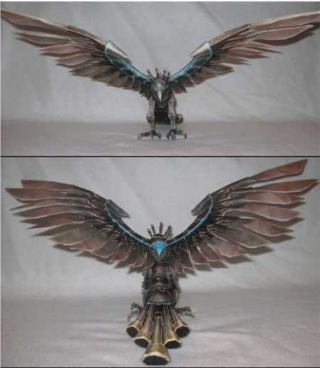 League of Legends Anivia the Cryophoenix Papercraft