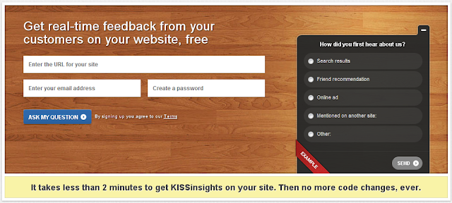 KISSInsights Home Page