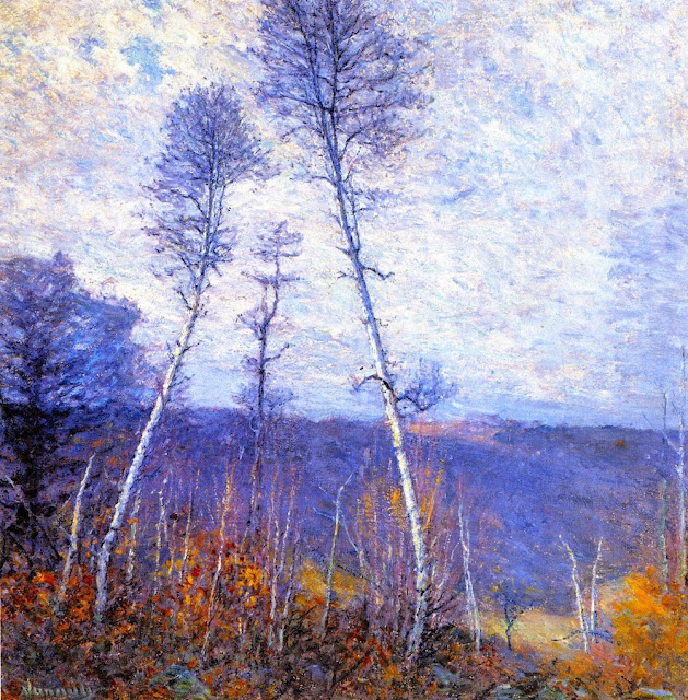 Robert Vonnoh - A Late Autumn Epic
