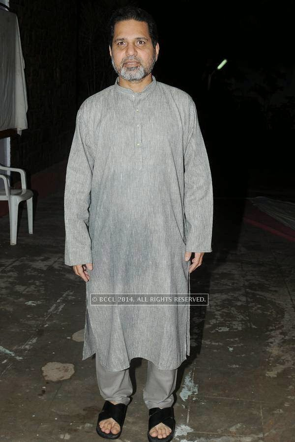 Irshad during the iftaar party.<br /> <br />