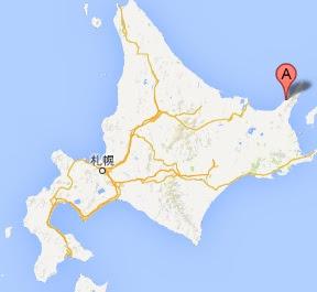 知床クルーザー観光船・ドルフィン・地図