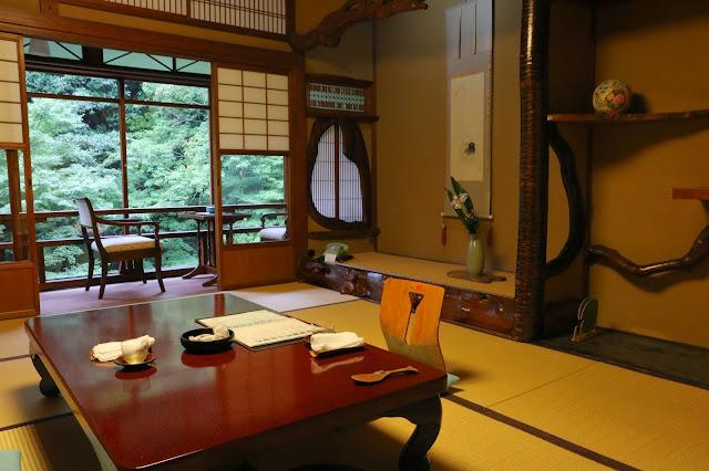 Notre chambre au ryokan Iwaso