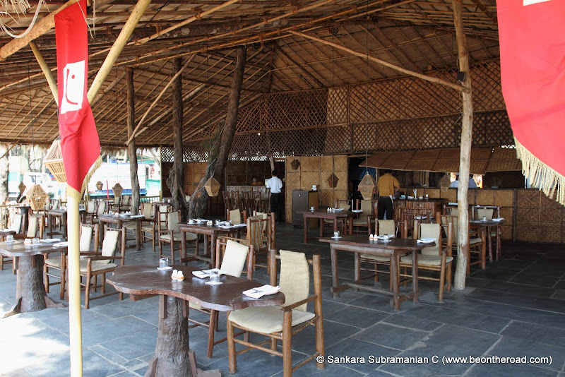 Cortas - Intercontinental's Beach restaurant on Rajbaga Beach