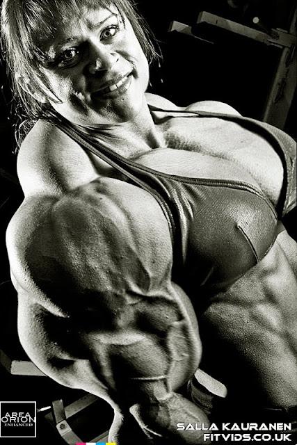 Salla Kauranen muscle morph