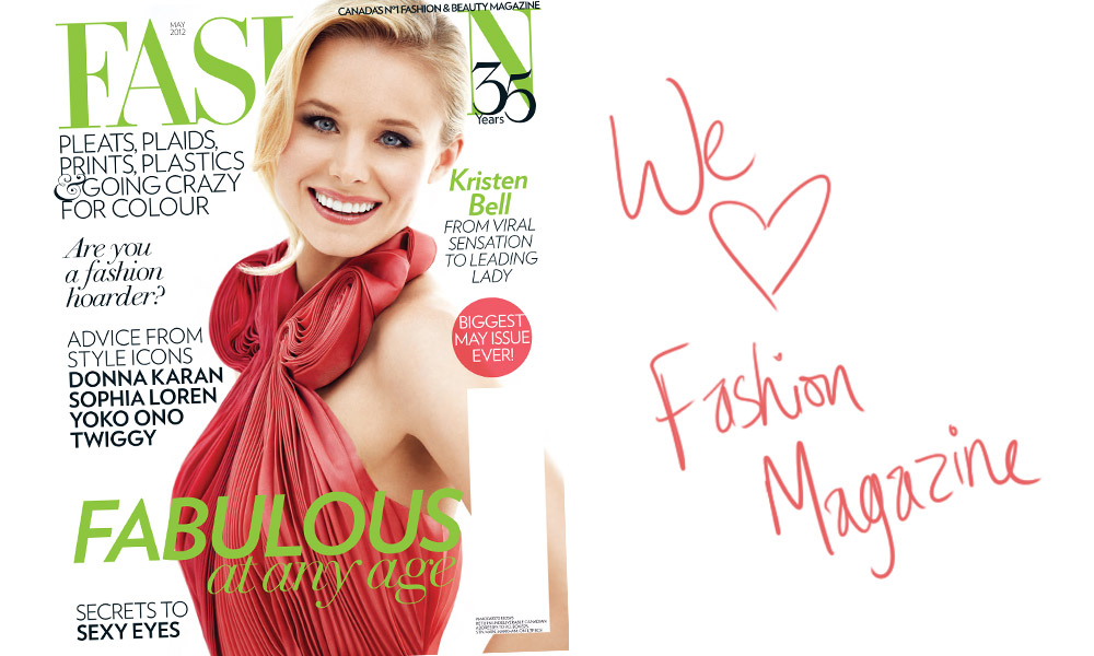 We Love Fashion Magazine!