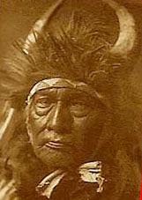 Меховые шапки индейцев