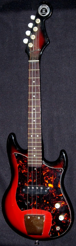 Tombo Ukuler tenor scale made in japan electric Ukulele