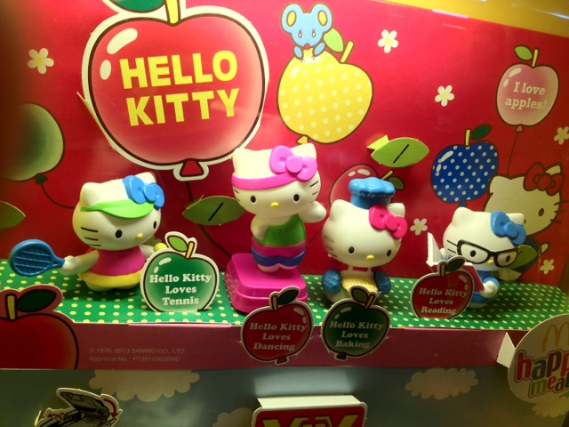 Hello Kitty Happy meal 2013