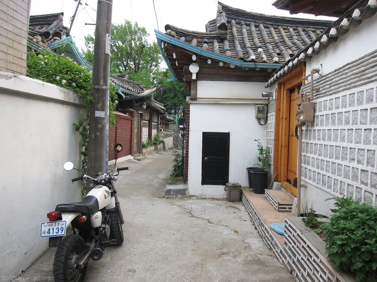 Bukchon Hanok Village Alley