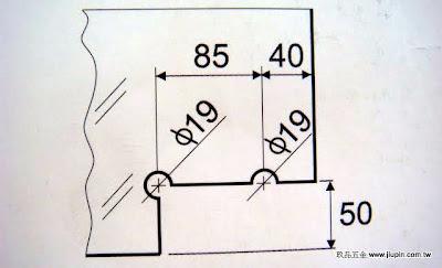 裝潢五金品名:CH800-雙鎖夾角(大型)圖表