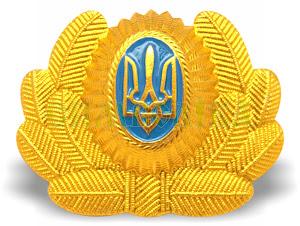 Кокарда Авіація золота алюмінієва