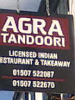 Agra Tandoori Sign Indian purple