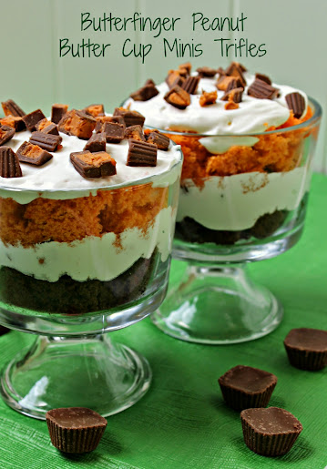 Butterfinger Peanut Butter Cups Trifle Recipe Amp Milkshake