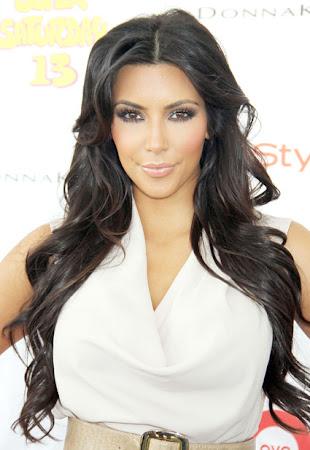 maquiagem de Kim Kardashian