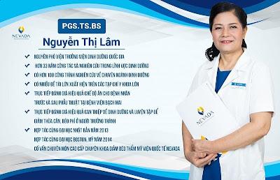 Chuyên gia cố vấn cấp cao PGS.TS.BS Nguyễn Thị Lâm