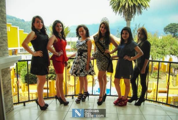 Presentan a candidatas a Señorita Esquipulas Palo Gordo