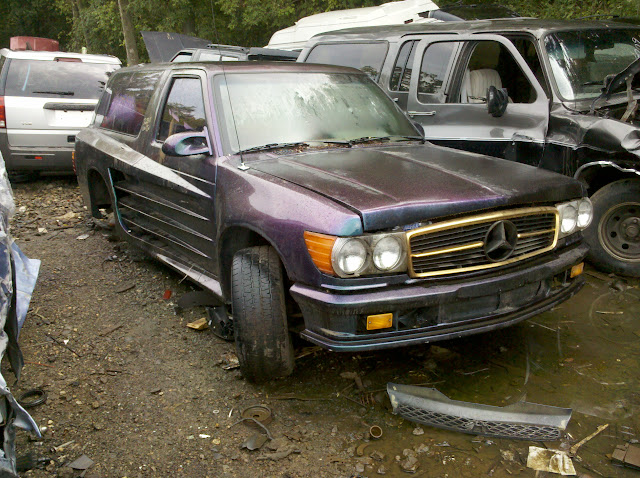 Official junk yard finds thread for Mercedes benz scrap yard