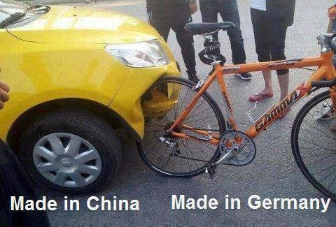 Made in China vs Made in Germany