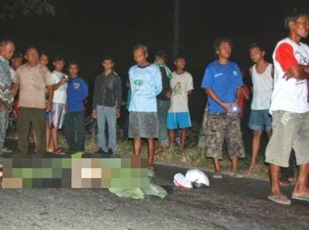kecelakaan di gentong pasutri tewas