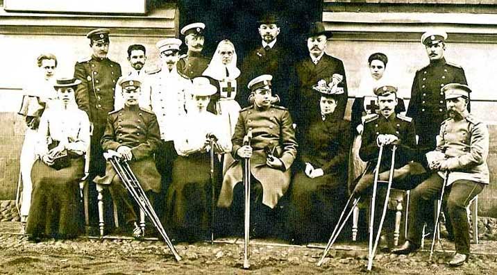 Военный госпиталь в Гатчине