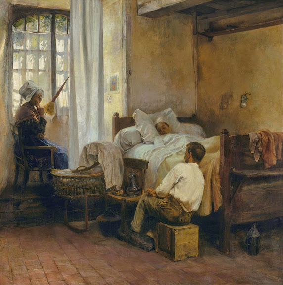 Gaston La Touche - The first born