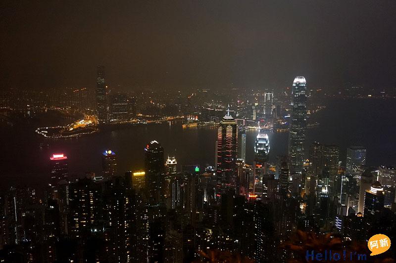 香港太平山夜景-4
