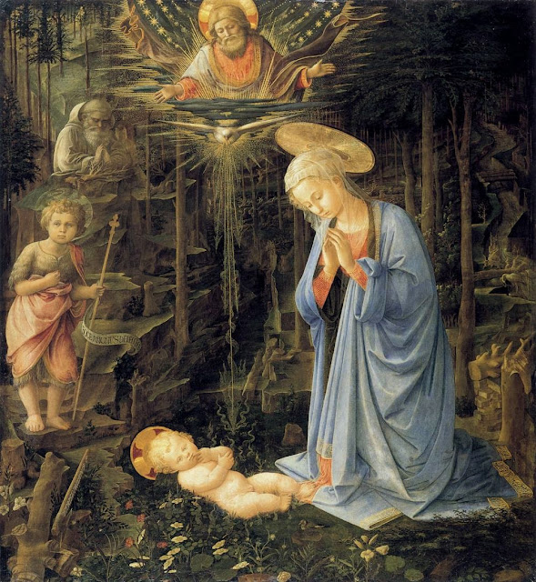 Filippino Lippi - Madonna in the Forest
