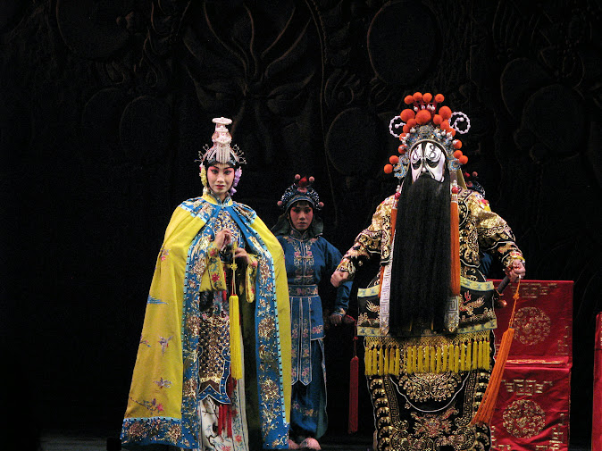 Peking Opera at Liyuan Theater, Beijing, China (2012)
