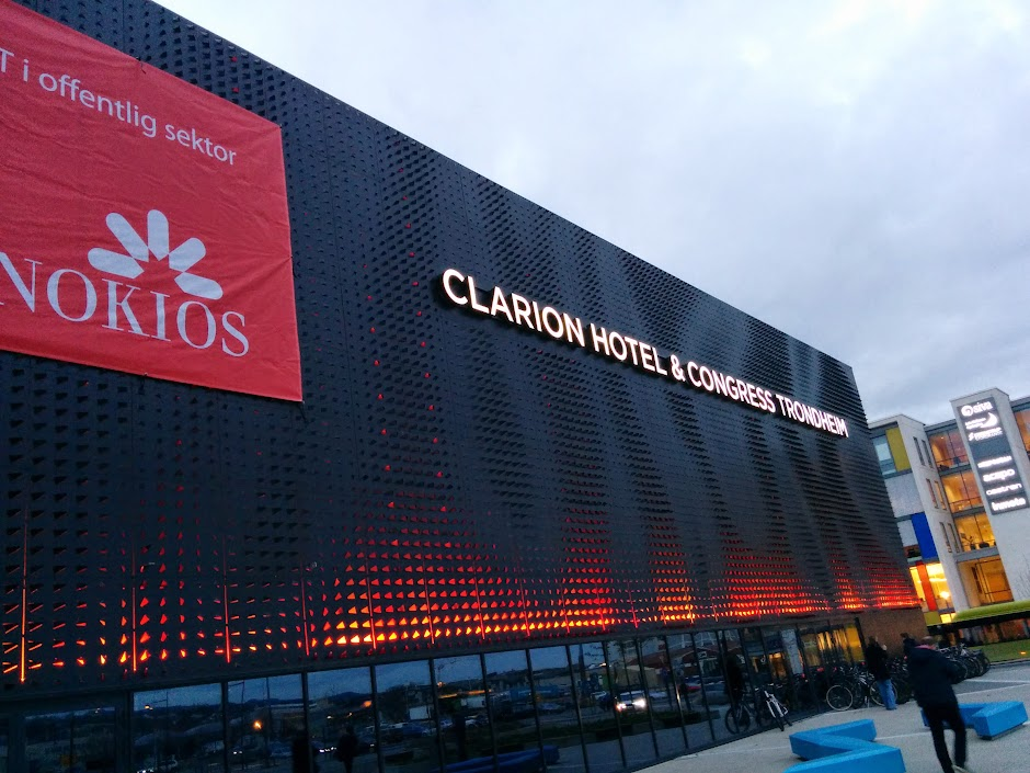 Clarion Hotel Trondheim - outside