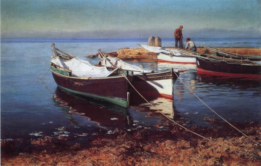Elin Danielson-Gambogi - Fishing Boats