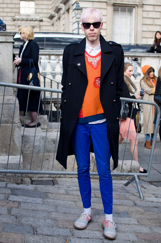 Street Chic at London Fashion Week by Martin Isaac