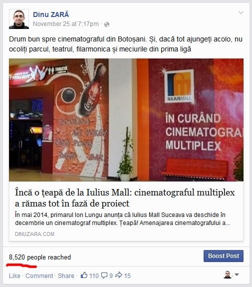 Dinu Zară pe Facebook: Cinematograf Multiplex la Iulius Mall