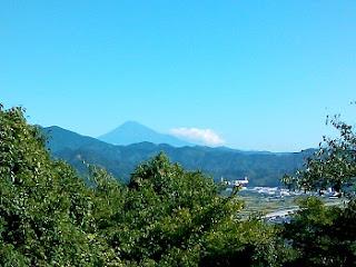 賎機山から富士山